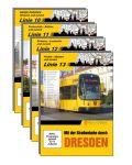 Mit der Straßenbahn durch Dresden, Linien 10 /12 / 13 im DVD-Set