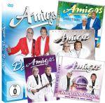 Amigos Geschenk-Paket EXKLUSIV Anstecknadel + Mega-Fanaufkleber