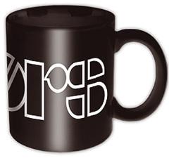 The Doors Logo Black Boxed Tasse