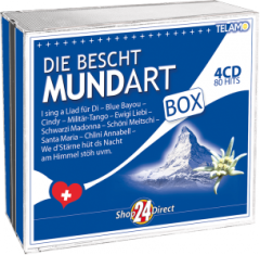 Die Bescht Mundart Box (4 CDs)