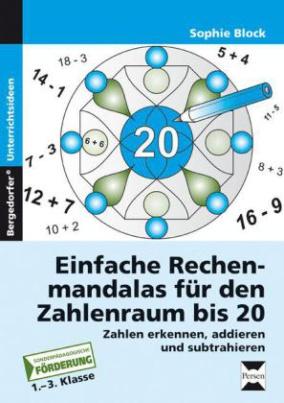 Einfache Rechenmandalas für den Zahlenraum bis 20