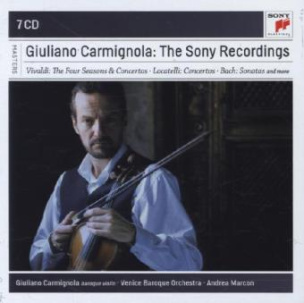 Giuliano Carmignola - The Complete Sony Recordings, 7 Audio-CDs