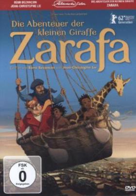 Die Abenteuer der kleinen Giraffe Zarafa, 1 DVD