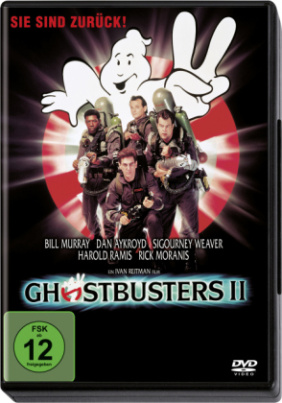 Ghostbusters 2, 1 DVD