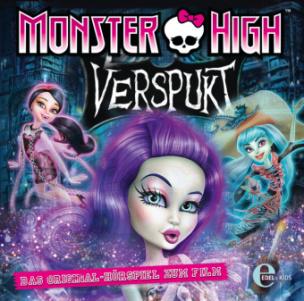 Monster High - Verspukt: Das Geheimnis der Geisterketten, Audio-CD