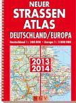 Neuer Straßenatlas Deutschland/Europa 2013/2014