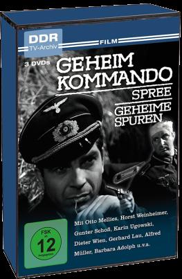 Geheimkommando Spree/Geheime Spuren (DDR TV-Archiv) (3DVD´s)