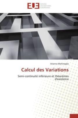 Calcul des Variations