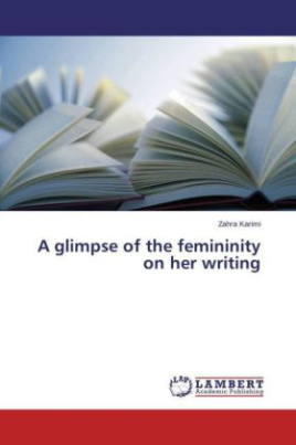 A glimpse of the femininity on her writing