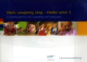 Wach, neugierig, klug - Kinder unter 3, m. CD-ROM u. DVD-ROM