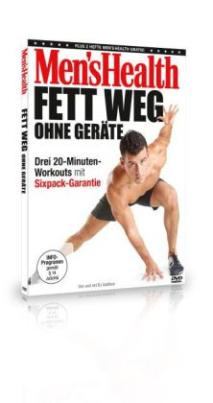 Men's Health - Fett weg ohne Geräte, 1 DVD