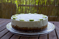 Mango-Kokos - Torte