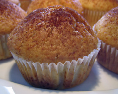 Muffins mit Schokokern