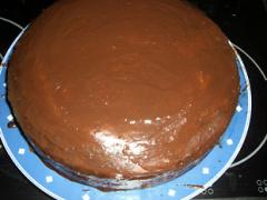Schoko-Rotwein Torte