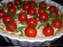 Cherry Tomaten Tarte