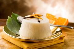 Orangen-Vanille-Creme