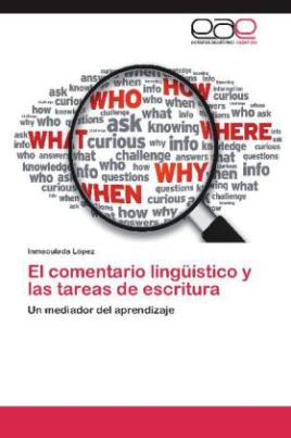 El comentario lingüístico y las tareas de escritura