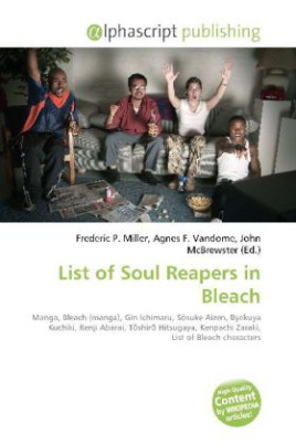 List of Soul Reapers in Bleach