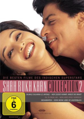Shah Rukh Khan Collection 2 (Neuauflage), 3 DVDs