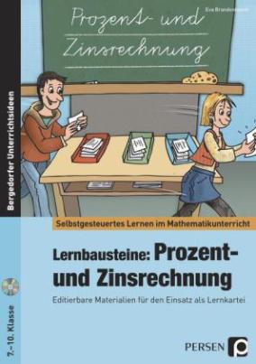 Lernbausteine: Prozent- und Zinsrechnung, m. CD-ROM