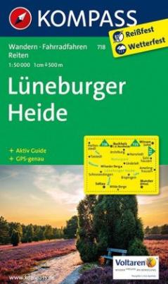 Kompass Karte Lüneburger Heide