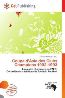 Coupe d'Asie des Clubs Champions 1992-1993