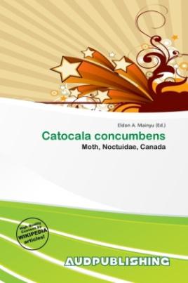 Catocala concumbens