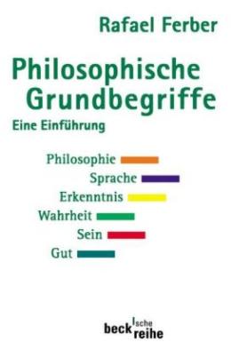 Philosophische Grundbegriffe. Tl.1