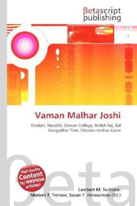 Vaman Malhar Joshi