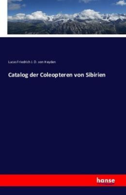 Catalog der Coleopteren von Sibirien