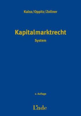 Kapitalmarktrecht (f. Österreich)