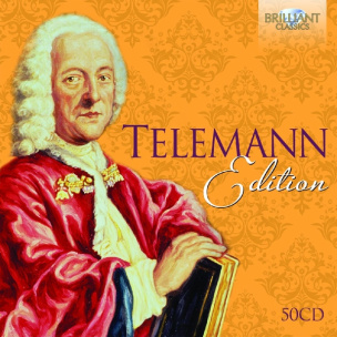 Telemann Edition, 50 Audio-CDs