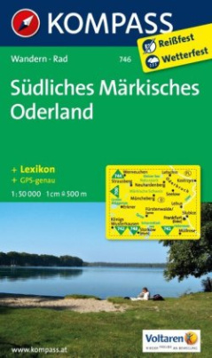 Kompass Karte Südliches Märkisches Oderland