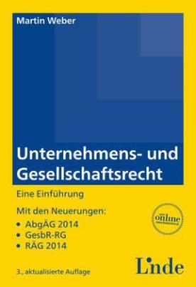 Unternehmens- und Gesellschaftsrecht (f. Österreich)
