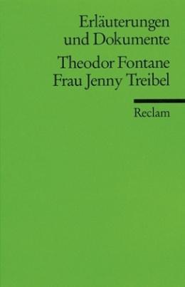 Theodor Fontane 'Frau Jenny Treibel'