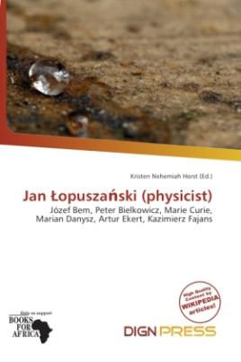 Jan  opusza ski (physicist)