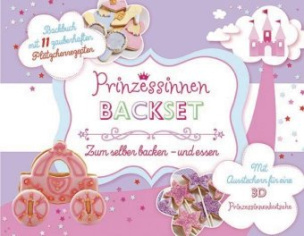Prinzessinnen Backset, m. Ausstecher