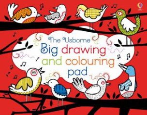 Th Usborne Big Drawing and Colouring pad