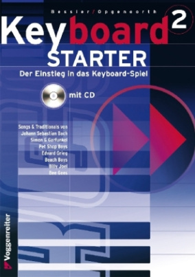 Keyboard-Starter, m. Audio-CD. Bd.2