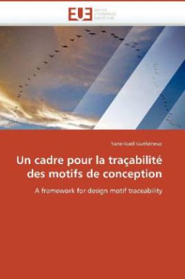 Un cadre pour la traçabilité des motifs de conception