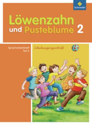 2. Schuljahr, Spracharbeitsheft A, Schulausgangsschrift
