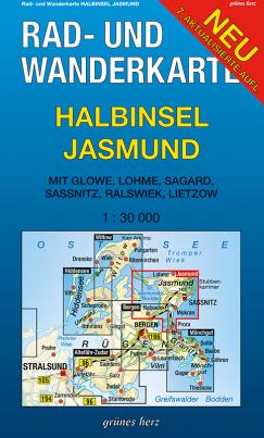 Rad- und Wanderkarte: Halbinsel Jasmund