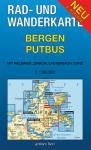 Rad- und Wanderkarte: Bergen - Putbus