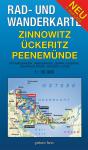 Rad- und Wanderkarte: Zinnowitz, Ückeritz, Peenemünde