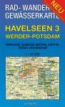 Rad-, Wander- und Gewässerkarte Havelseen 3: Werder - Potsdam