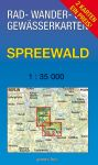 Rad-, Wander- und Gewässerkarte: Spreewald